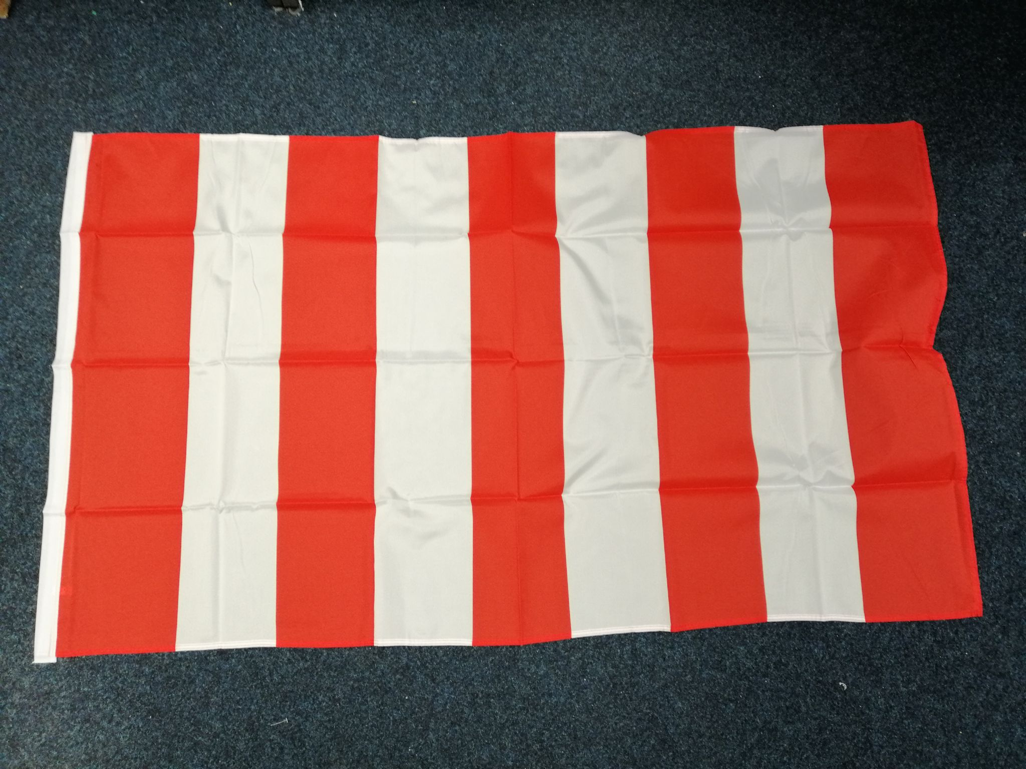 HAPPY BIRTHDAY YELLOW 5ft X 3ft Flag 75d with eyelets suitable for Flagpoles